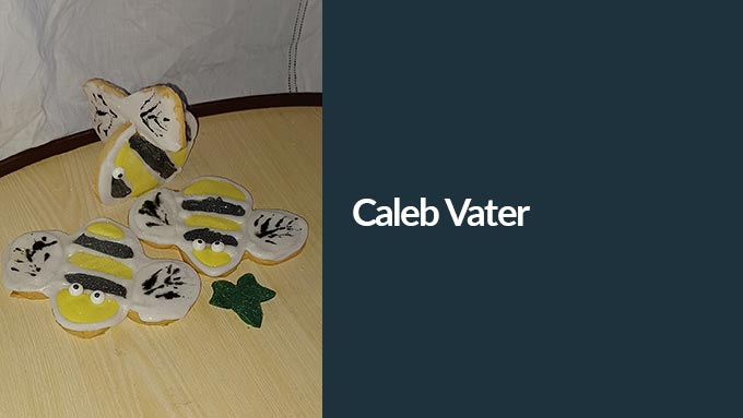 bee biscuit entry from Caleb